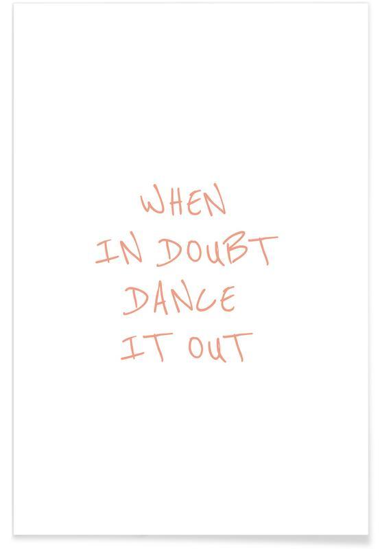 Motivational, Danceitout Poster