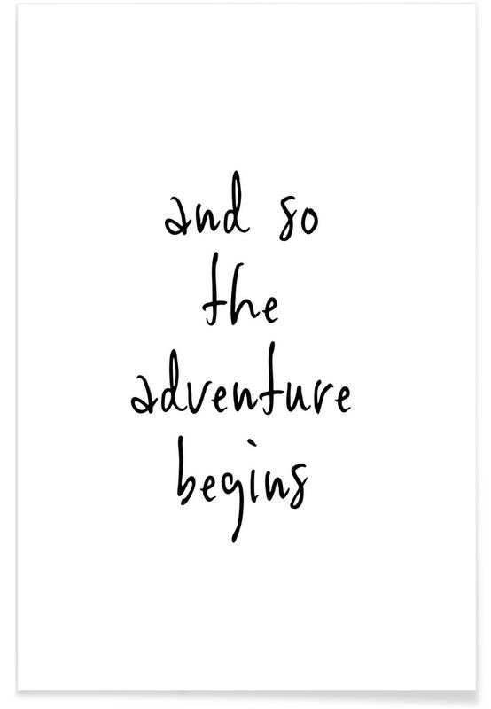 Motivatie, Adventure poster