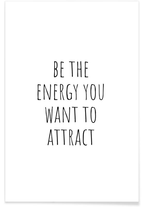 Motivational, Betheenergy Poster