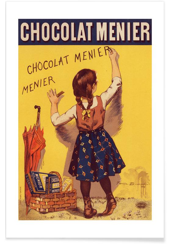 Poster for Chocolat Menier, Firmin Bouisset Poster