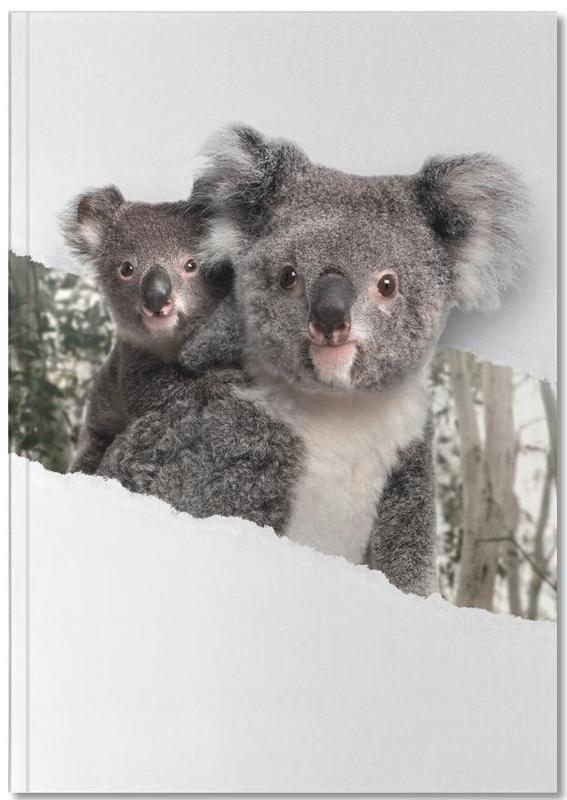 Kunst voor kinderen, Koalas Torn Paper Notebook