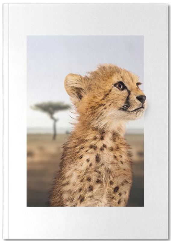 Nursery & Art for Kids, Cheetahs, CHEETAH CUB Notebook