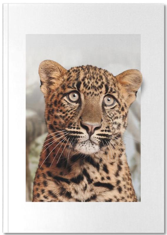 Luipaarden, Kunst voor kinderen, LEOPARD CUB Notebook