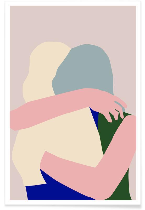 , Hug 2 -Poster
