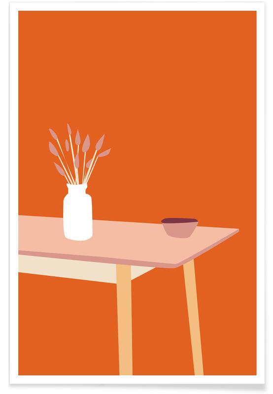 , Orange Home -Poster