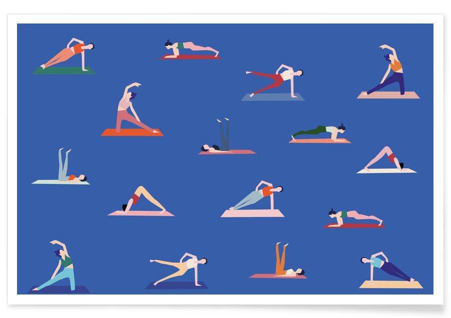 Yoga, Yoga Girls affiche
