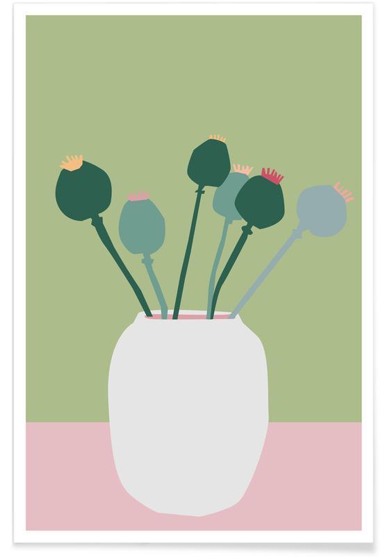 , Mohnblume -Poster
