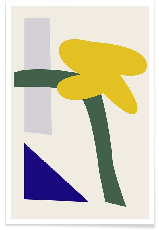 , Abstrakt -Poster