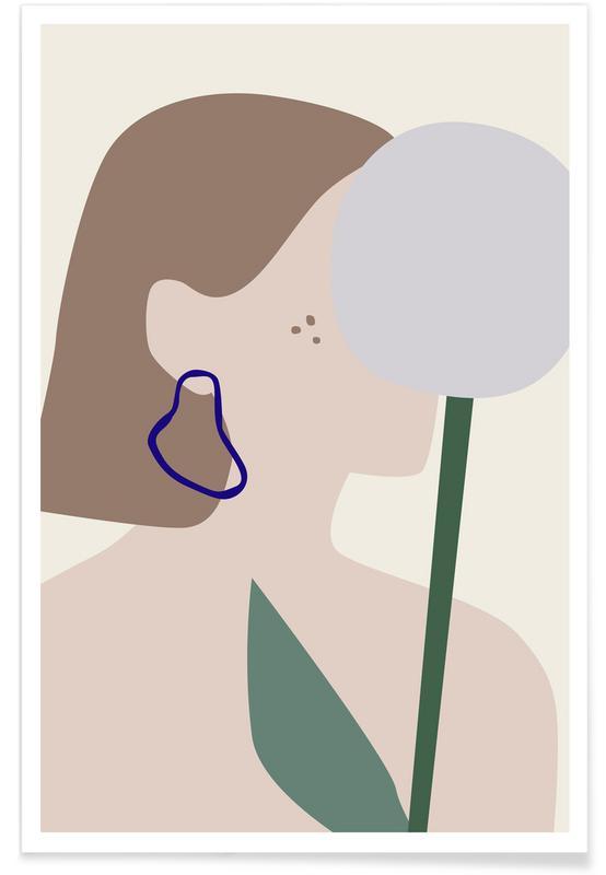 Portraits, Pusteblume affiche