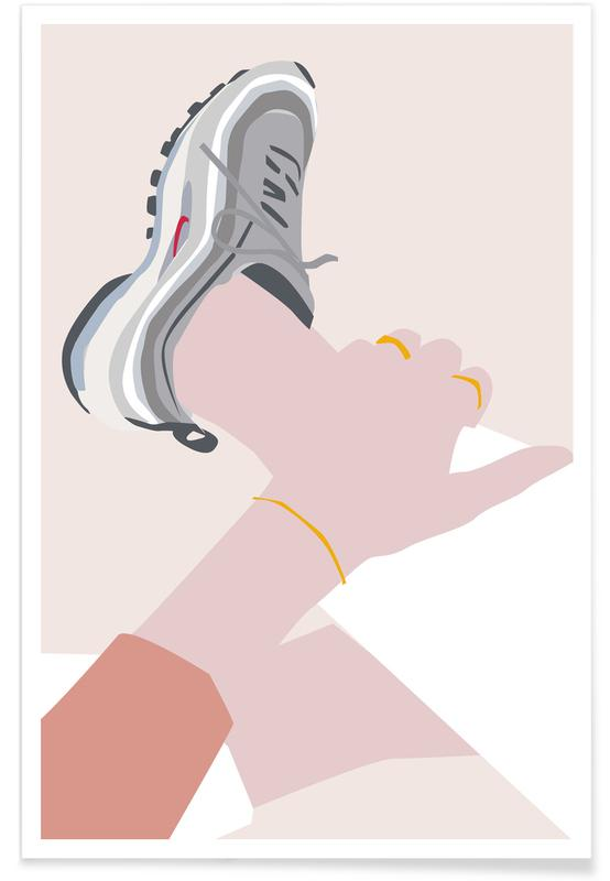 , Sneaker -Poster