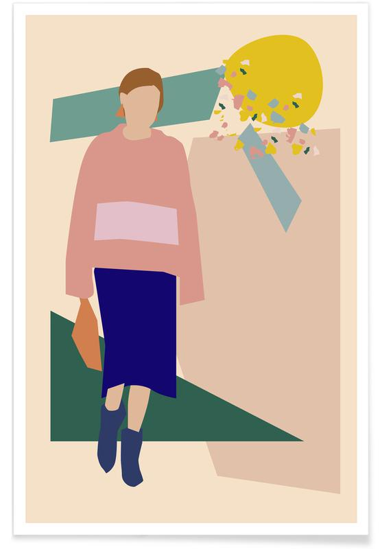 Portraits, Girl Poster