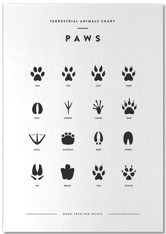 Paws chart -Notizblock