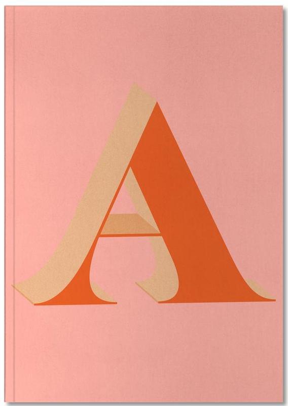 Alphabet et lettres, Red A Notebook