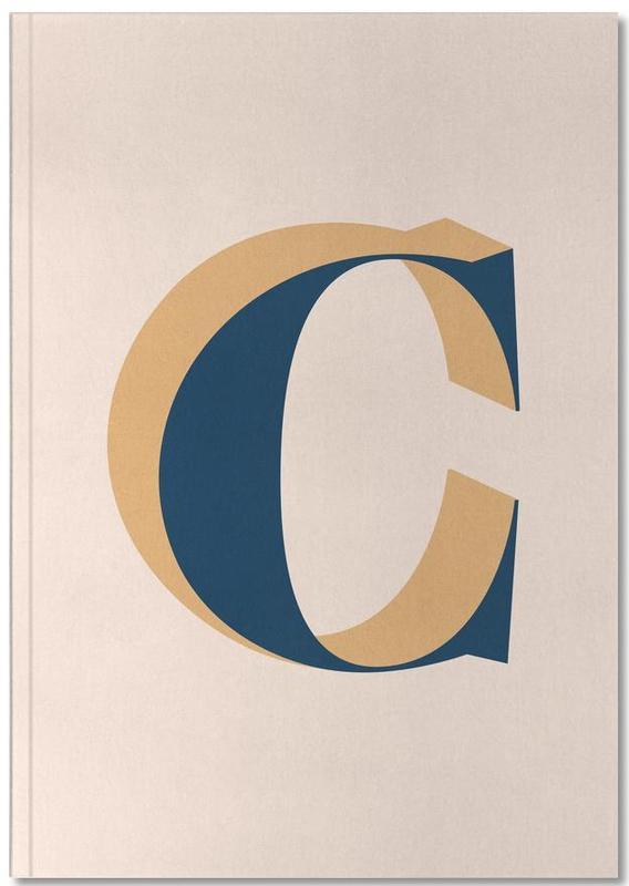 Alphabet et lettres, Blue C Notebook