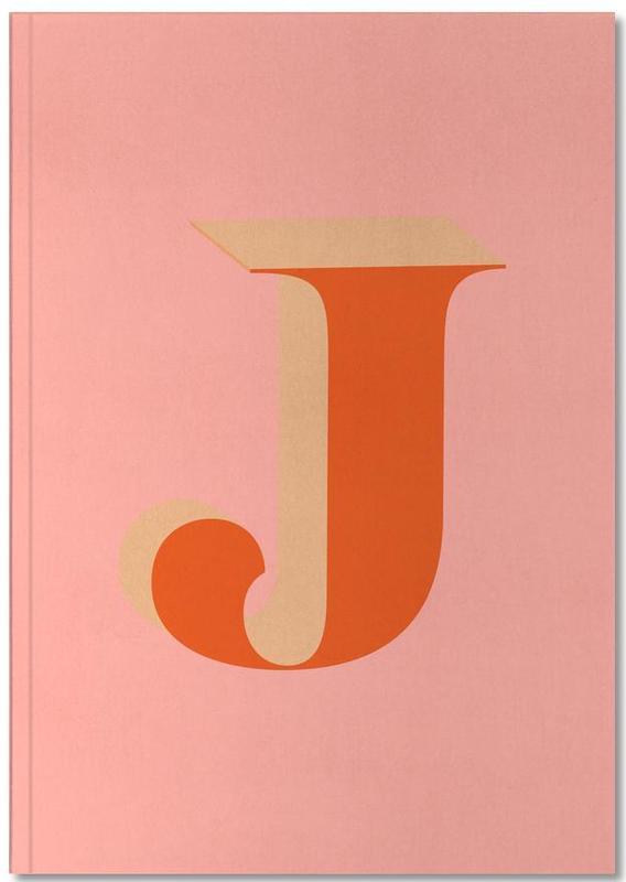 Alphabet et lettres, Red J Notebook