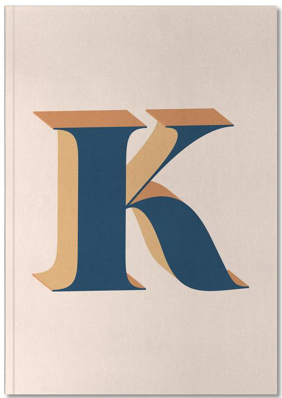 Blue K Notebook