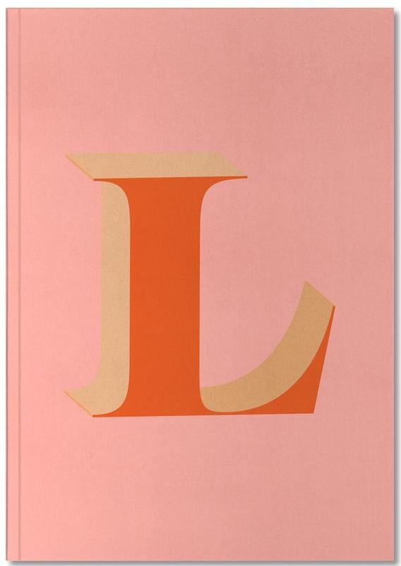 Alphabet et lettres, Red L Notebook