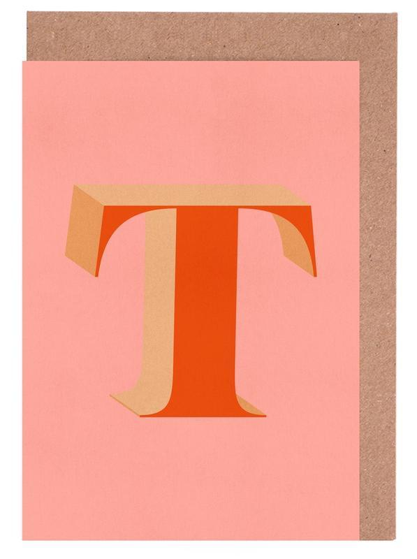 Red T cartes de vœux