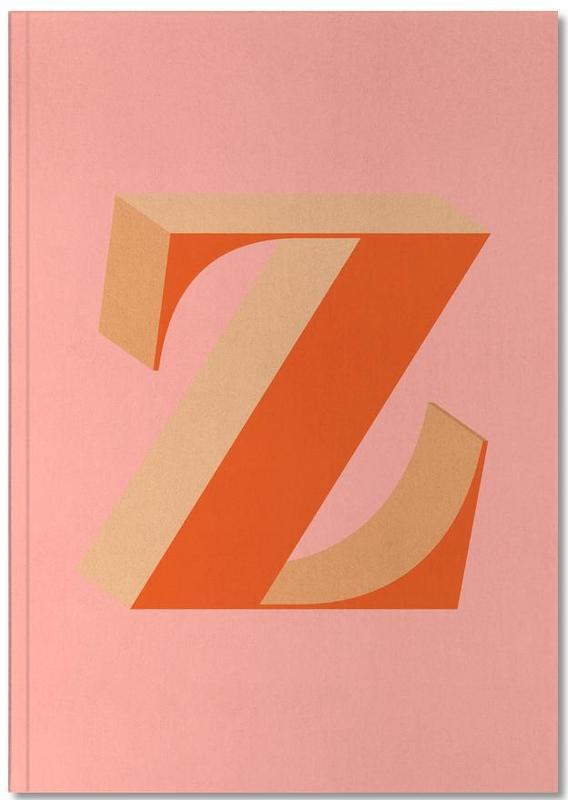 Red Z Notebook