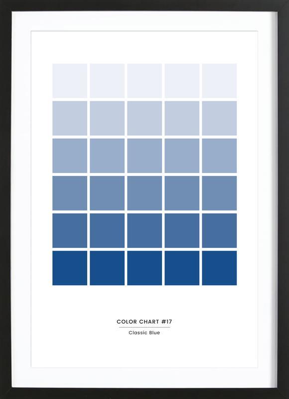 Classic Blue #17 Framed Print