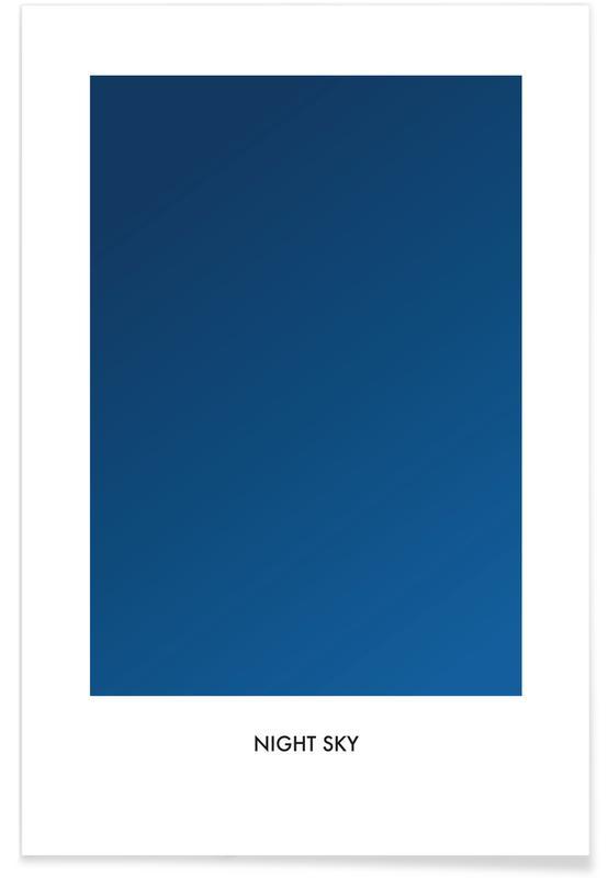 , Night Sky póster