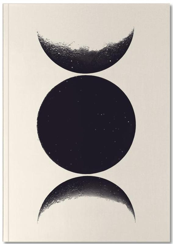 Monochrome Moon Notebook