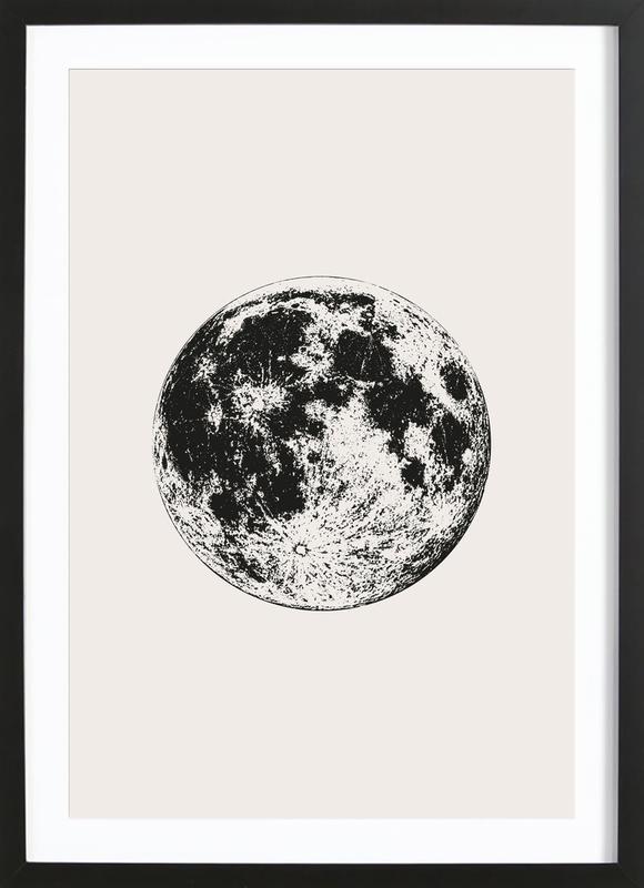 Lunar Framed Print