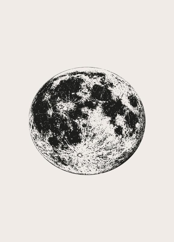 Lunar Canvastavla