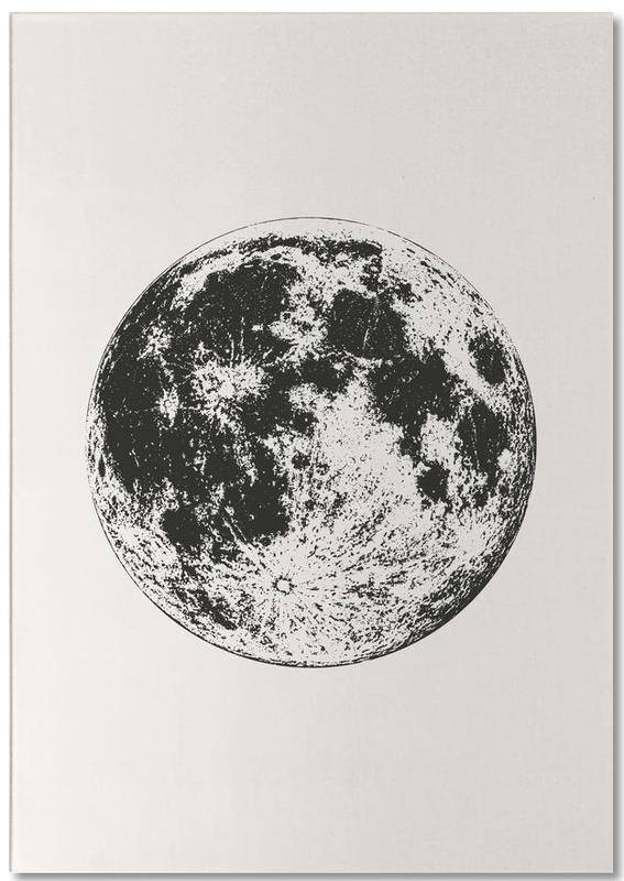 Lunar -Notizblock