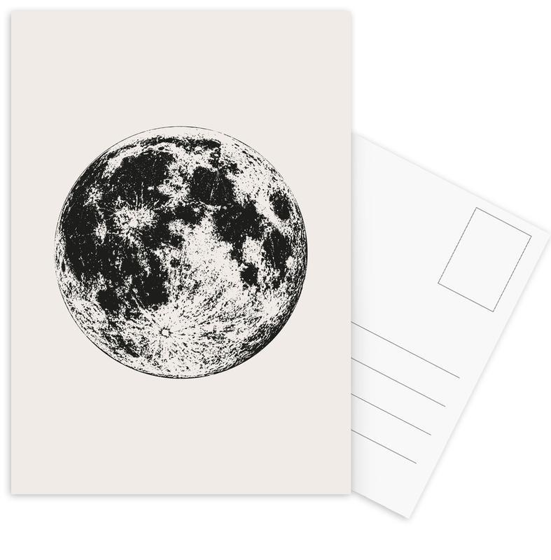 Lunar -Postkartenset