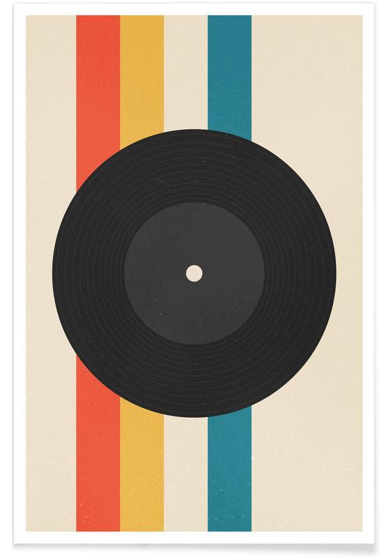 Retro, Record Poster