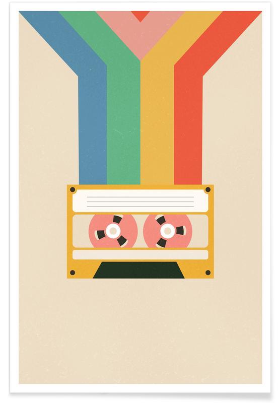 Retro, Retro Tape -Poster
