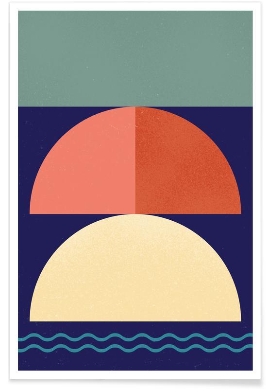 , Setting Sun Plakat