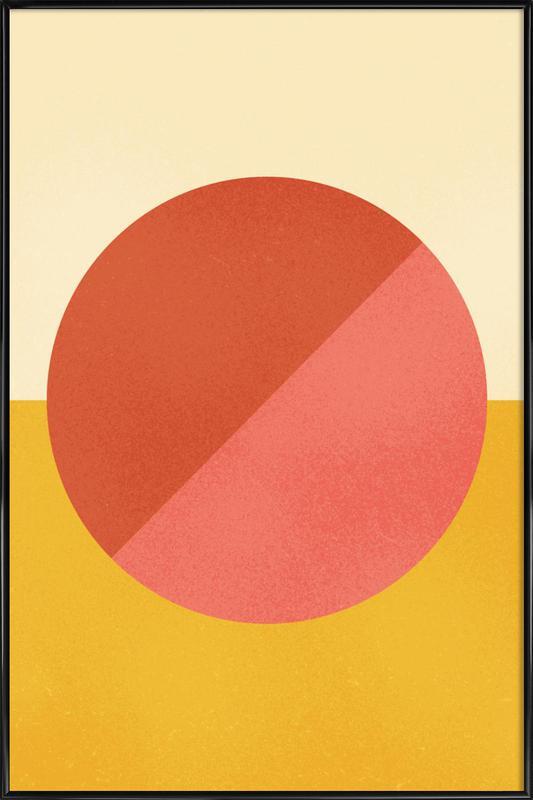 Halves Framed Poster