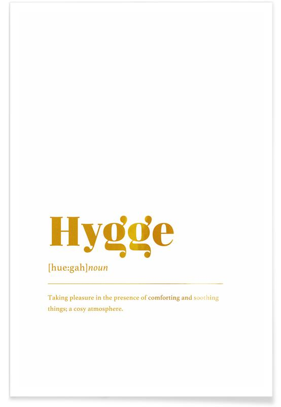 Hygge-Gold -Poster
