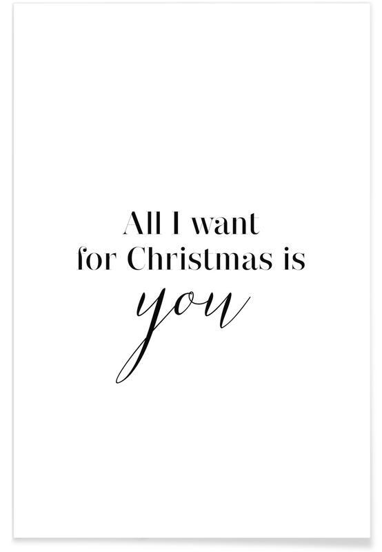 Noël, All I Want affiche