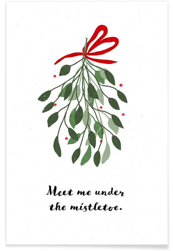 Noël, Mistletoe affiche