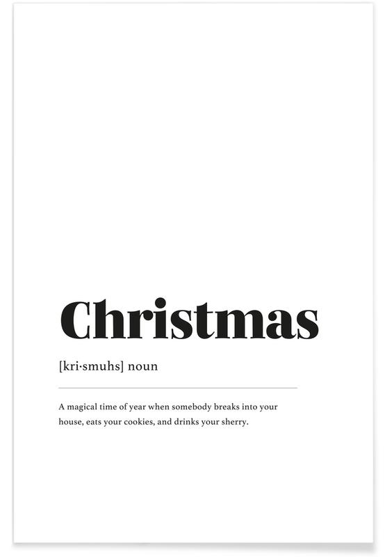 Noël, Christmas Cookie Thief affiche