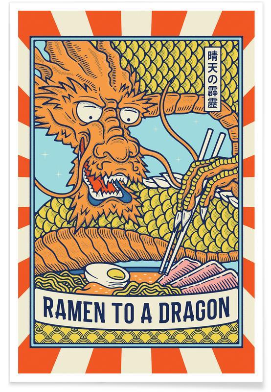 D'inspiration japonaise, Ramen to a Dragon II affiche