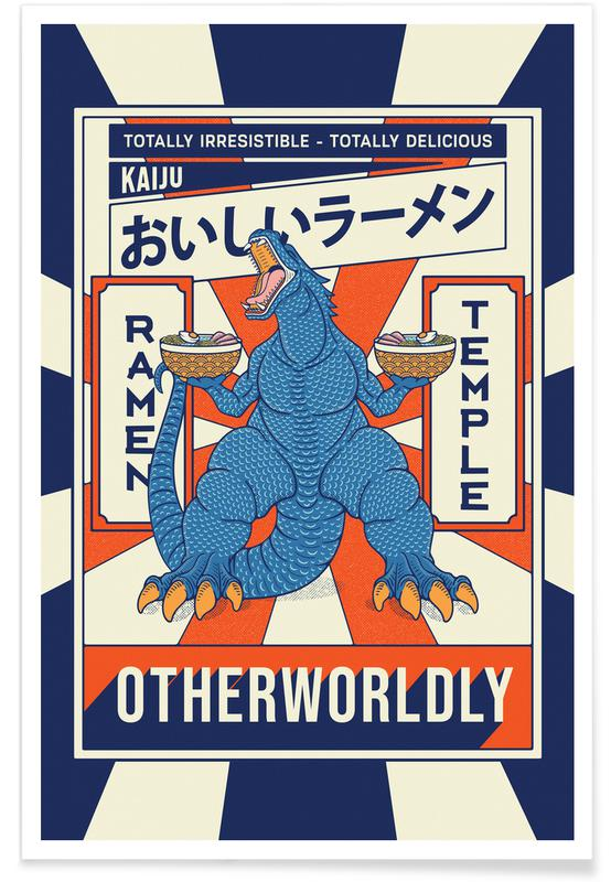 D'inspiration japonaise, Otherworldly affiche