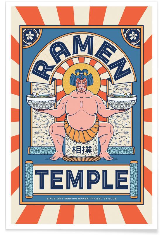 D'inspiration japonaise, Ramen Temple Balance affiche