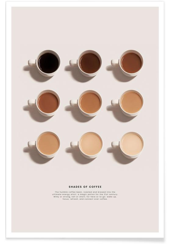 Kaffe, Shades of Coffee Plakat