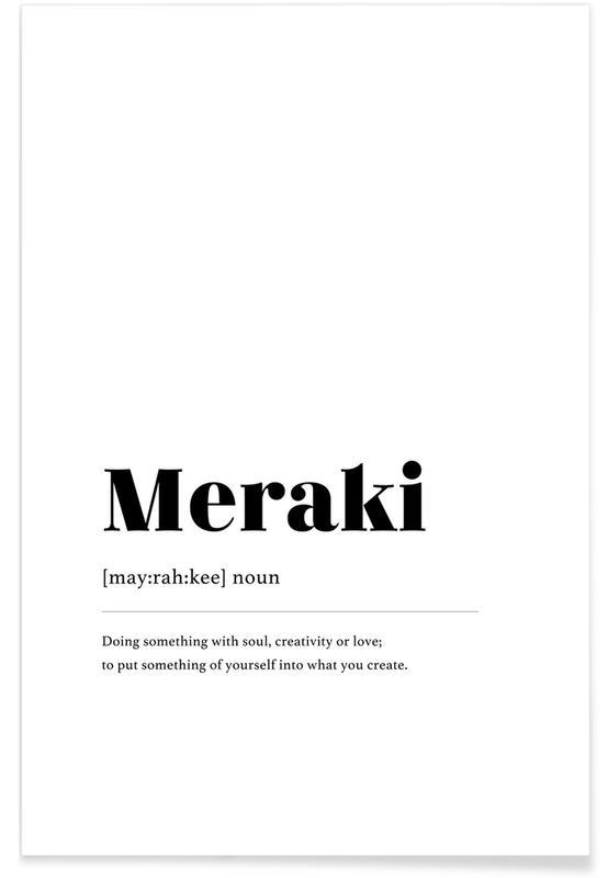 Meraki -Poster