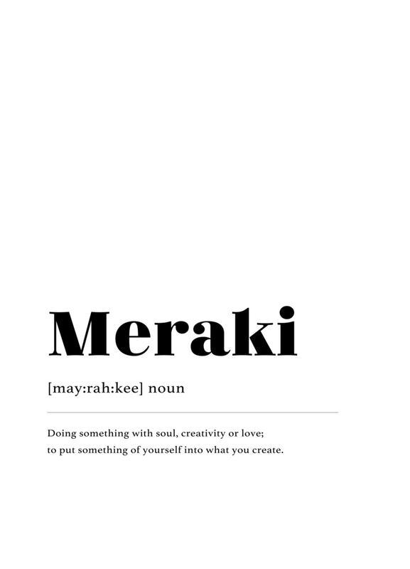Meraki Canvas Print