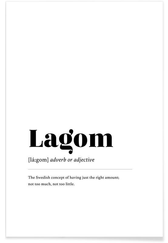 Lagom Plakat