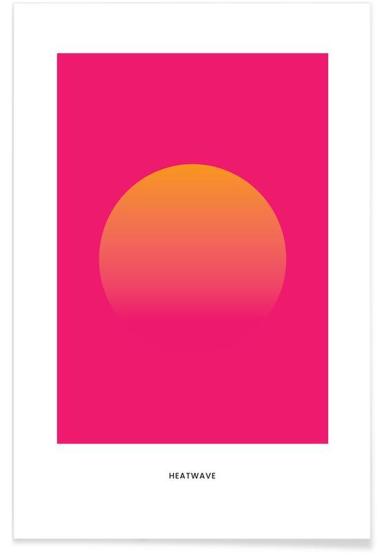 , Heatwave #3 Plakat