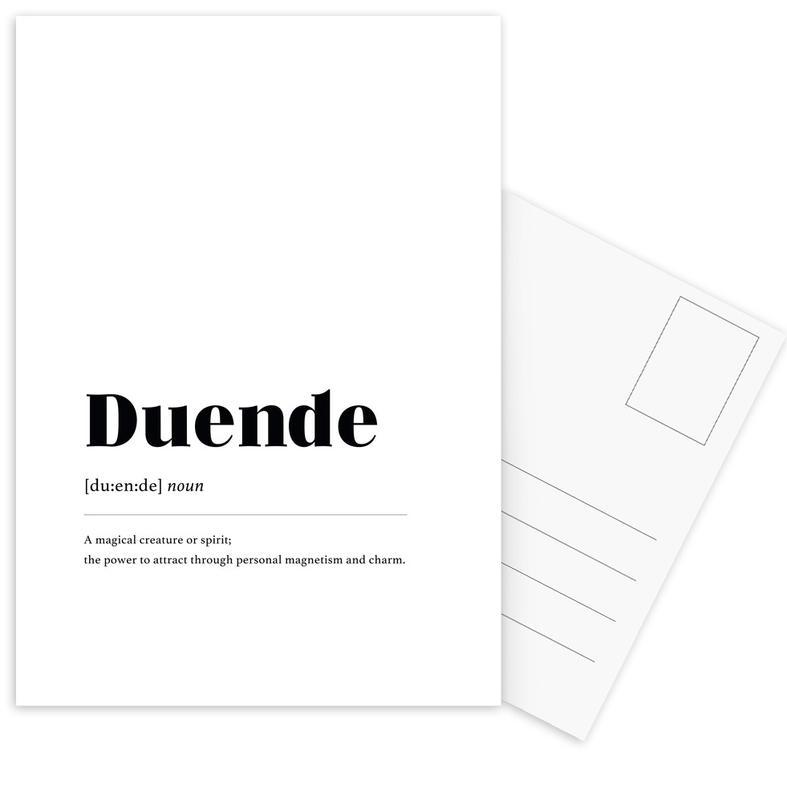 Duende -Postkartenset