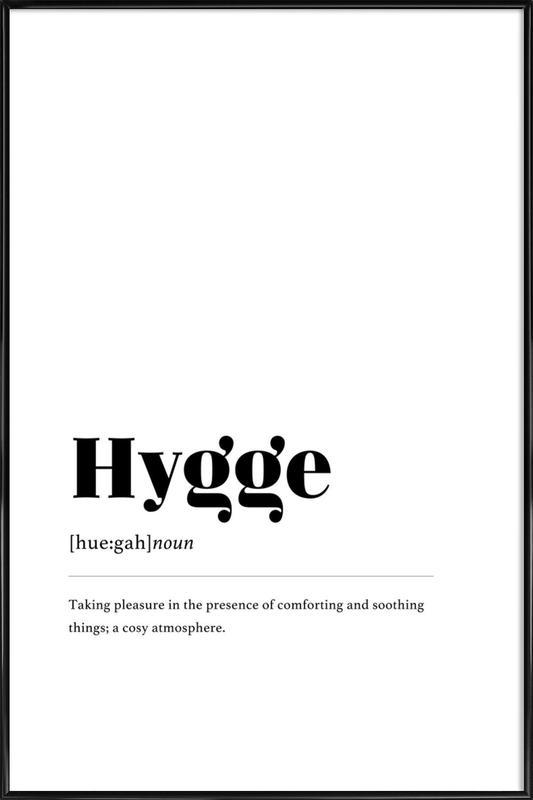 Hygge Framed Poster