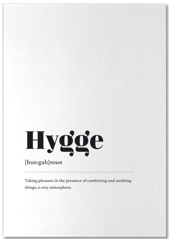 Hygge -Notizblock