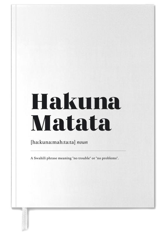 Hakuna Matata agenda